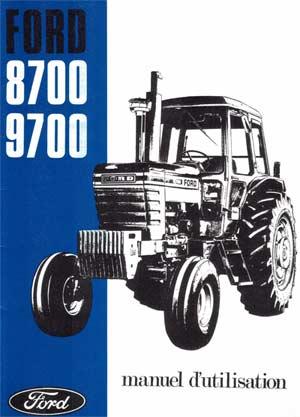 manuel d'utilisation tracteur Ford