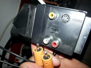 adaptateur péritel RCA pour Freebox