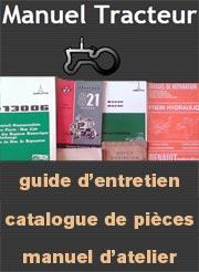 Livret d'entretien, notice technique et revue pour votre ancien tracteur
