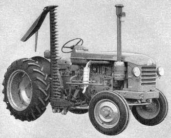Barre de coupe à portée latérale Renault Kuhn