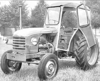 Cabine de tracteur Renault