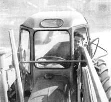 Cabine Michel pour tracteur Renault