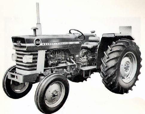tracteur massey ferguson MF 168