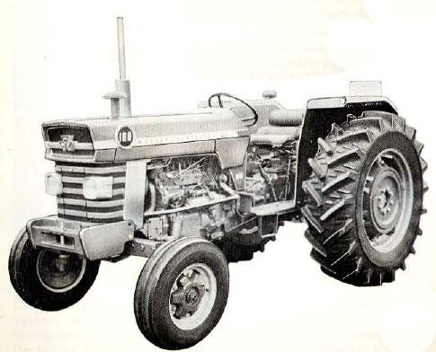 tracteur massey ferguson MF 188
